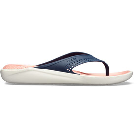 Crocs LiteRide Sandales, navy/melon